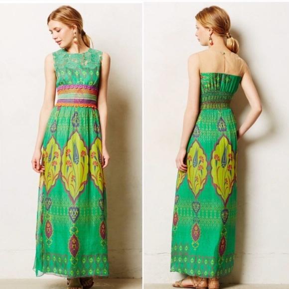 0a9793ac9f2 Hemant   Nandita Dresses   Skirts - Hemant   Nandita Mintzita Green ...
